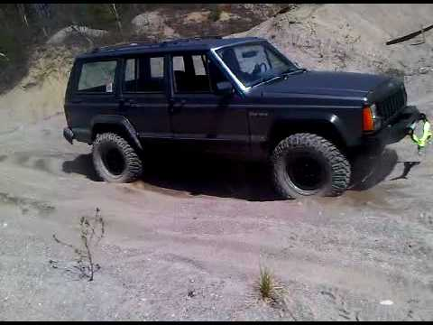 1989 Jeep Cherokee In The Sand Youtube