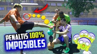 PENALTIS 100% IMPOSIBLES | RETOS EXTREMOS DE FUTBOL | Paul Ferrer