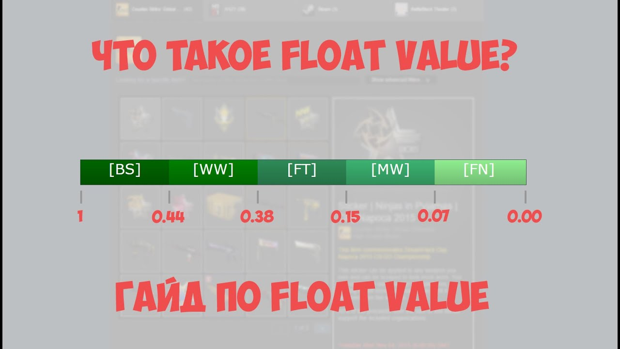 Csgo float value гифт кс го на вещи пуджа