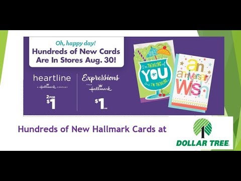 Dollar tree expressions greeting cards from hallmark youtube dollar tree expressions greeting cards from hallmark m4hsunfo