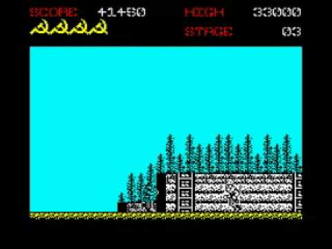 Green Beret - ZX Spectrum Walkthrough - YouTube