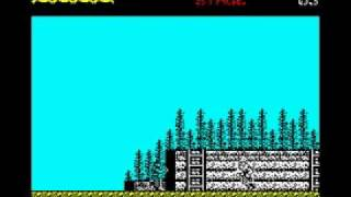 Green Beret - ZX Spectrum Walkthrough