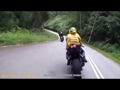 Abang Y15ZR Naik Hantu, Terus Tapau Superbike 2 Biji Time Corner !!