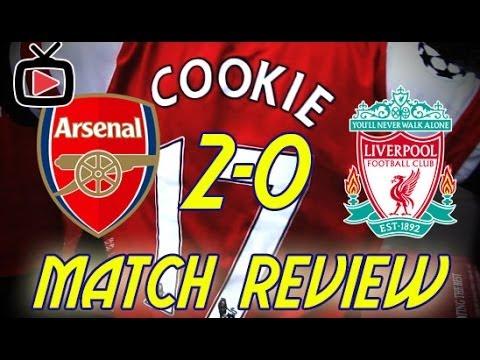 Arsenal FC 2 Liverpool FC 0 - Match Review - ArsenalFanTV.com
