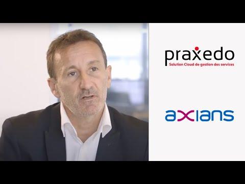 Vidéo Axians a choisi Praxedo, logiciel de gestion d'interventions fiable, robuste et performant.