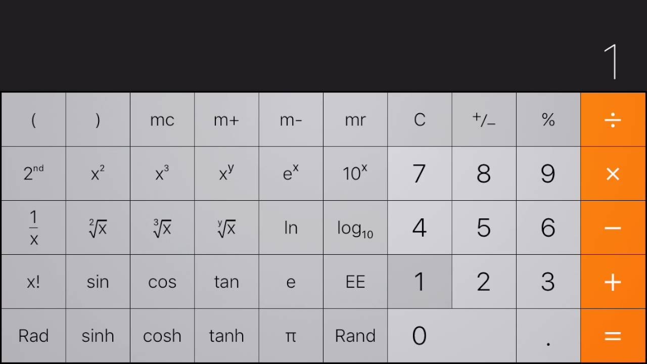 How to use the iphone calculator dummies.
