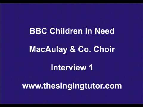 Fred MacAulay Interviews Robert Wishart About Coaching BBC Choir