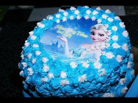 Cake Frozen Buttercream Ala Zasanah