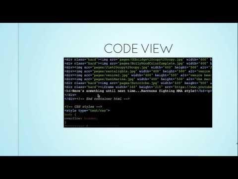 Presentation video for Turn.js