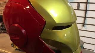 3d 프린터 아이언맨 헬멧