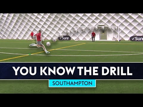 The Ultimate Finishing Drill!   You Know The Drill   Southampton