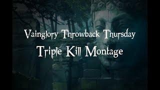 Throwback Thursday Triple-Kill Montage