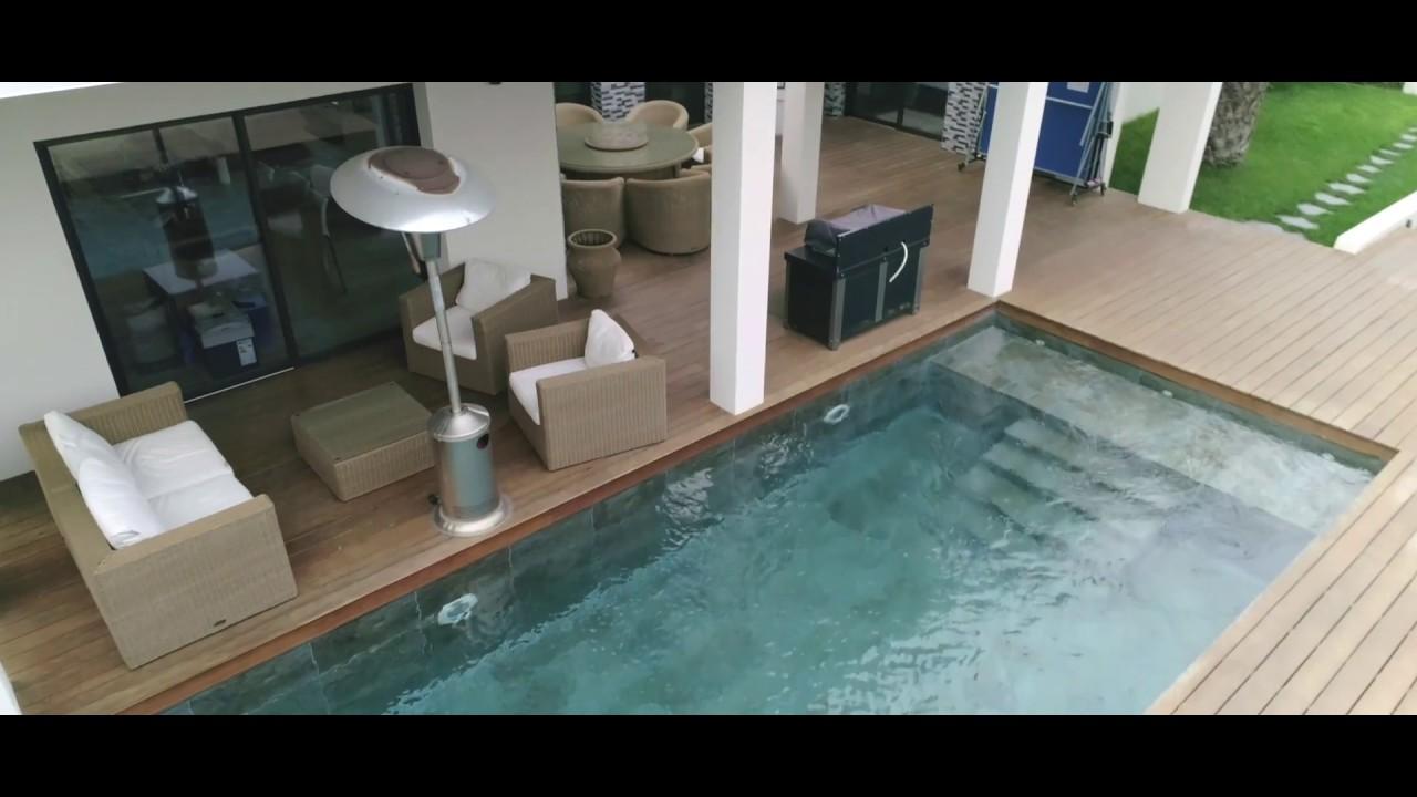 Vidéo promotionnelle d'un bien immobilier, avec drone
