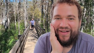 Did I Gain or Lose This Week? Christmas Card Update & Getting Back Outside (Six Mile Cypress Slough)
