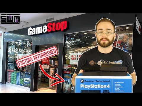 I Bought A Refurbished PS4 From GameStop...And It Completely Surprised Me