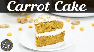 Carrot Cake | Carrot Cake Recipe | How to Make Carrot Cake | Homemade Carrot Cake