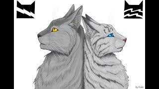 Коты Воители Серебрянка и Крутобок - Клип Lament(Заказ)