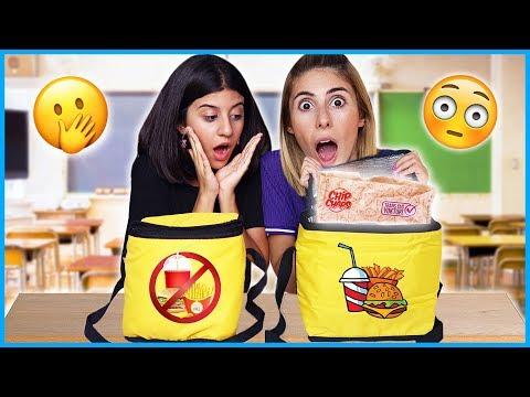 Okul Beslenme Çantası İçinden Ne Çıkacak Challenge Eğlenceli Çocuk Videosu Dila Kent