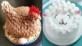 Top 10 Most Satisfying Cake Style Video