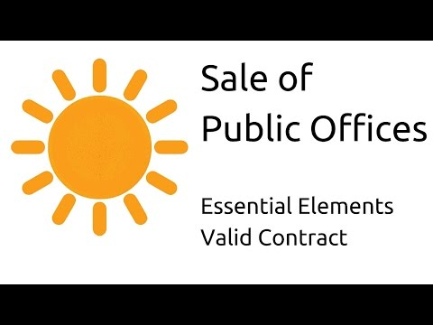 what are four elements of a valid contract