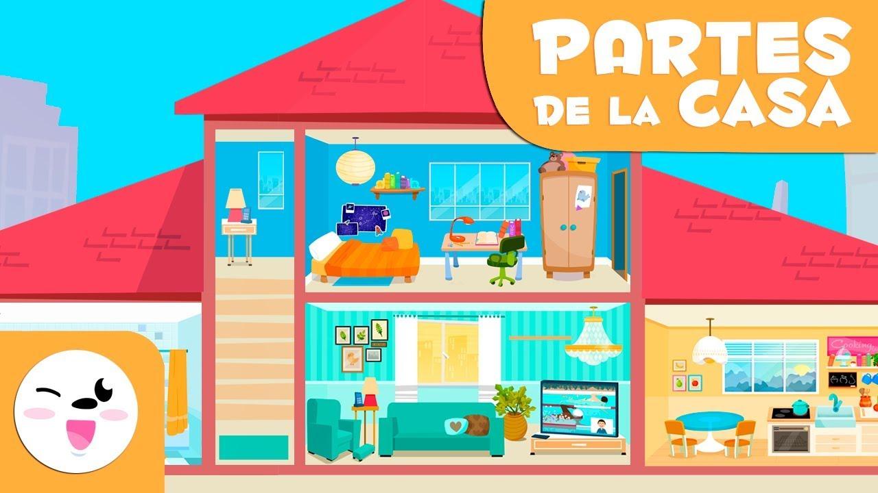 Vocabulario: Las habitaciones de la casa