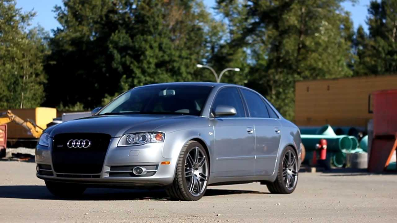 2007 audi a4 s line youtube for S line exterieurpaket a4