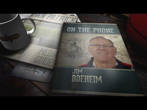 Syracuse HC Jim Boeheim Talks March Madness with Dan Patrick   Full Interview   3/19/18