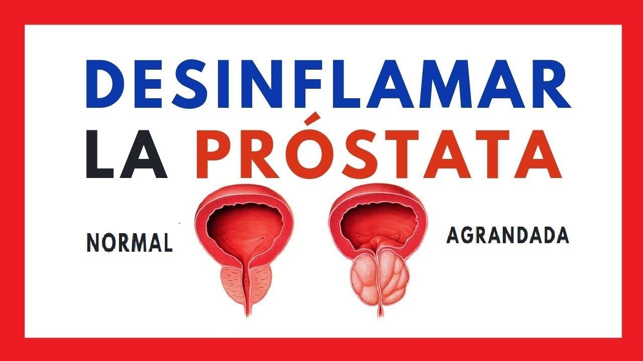 cura de hipertrofia de próstata con hierbas