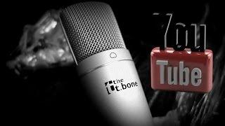 t.bone SC440 USB мікрофон (розпакування,тест).