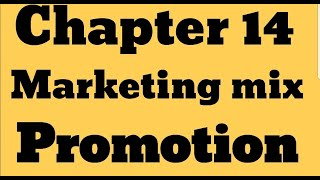 IGCSE Business studies _Chapter 14 Marketing Mix  Promotion