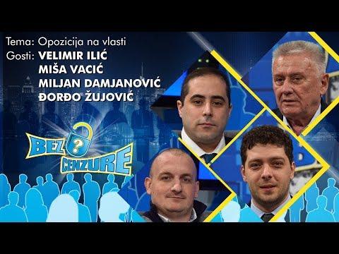 BEZ CENZURE - Miša Vacić, Đorđo Žujović, Miljan Damjanović, Velimir Ilić
