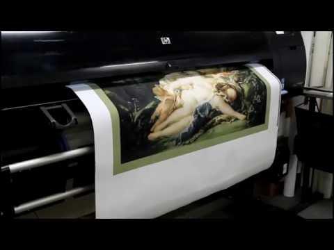 Печать картин на художественном холсте