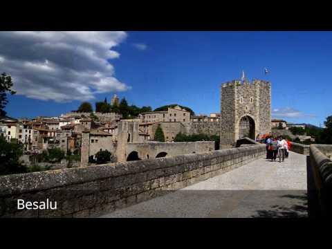 Places to see in ( Besalu - Spain )