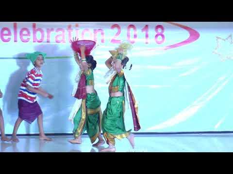 Vesavchi paru nesli go - HD English Medium School Gathering Dance - 2017-18