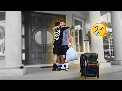 Saying my final GOODBYE to my brother... *emotional* | FaZe Rug
