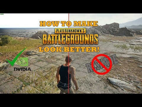 HOW TO MAKE PUBG LOOK BETTER - NO SOFTWARE/Programs Needed