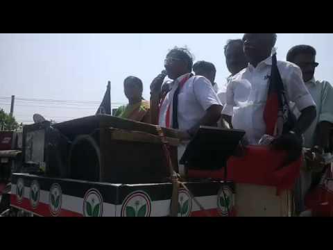 Ma Foi K . Pandiarajan Avadi  AVADI Constituency AIADMK Candidate Video 2