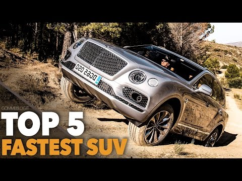 TOP 5 SUV 2017 - Fastest and Luxury SUV | Bentley vs Audi vs Jeep vs Porsche vs  Range Rover