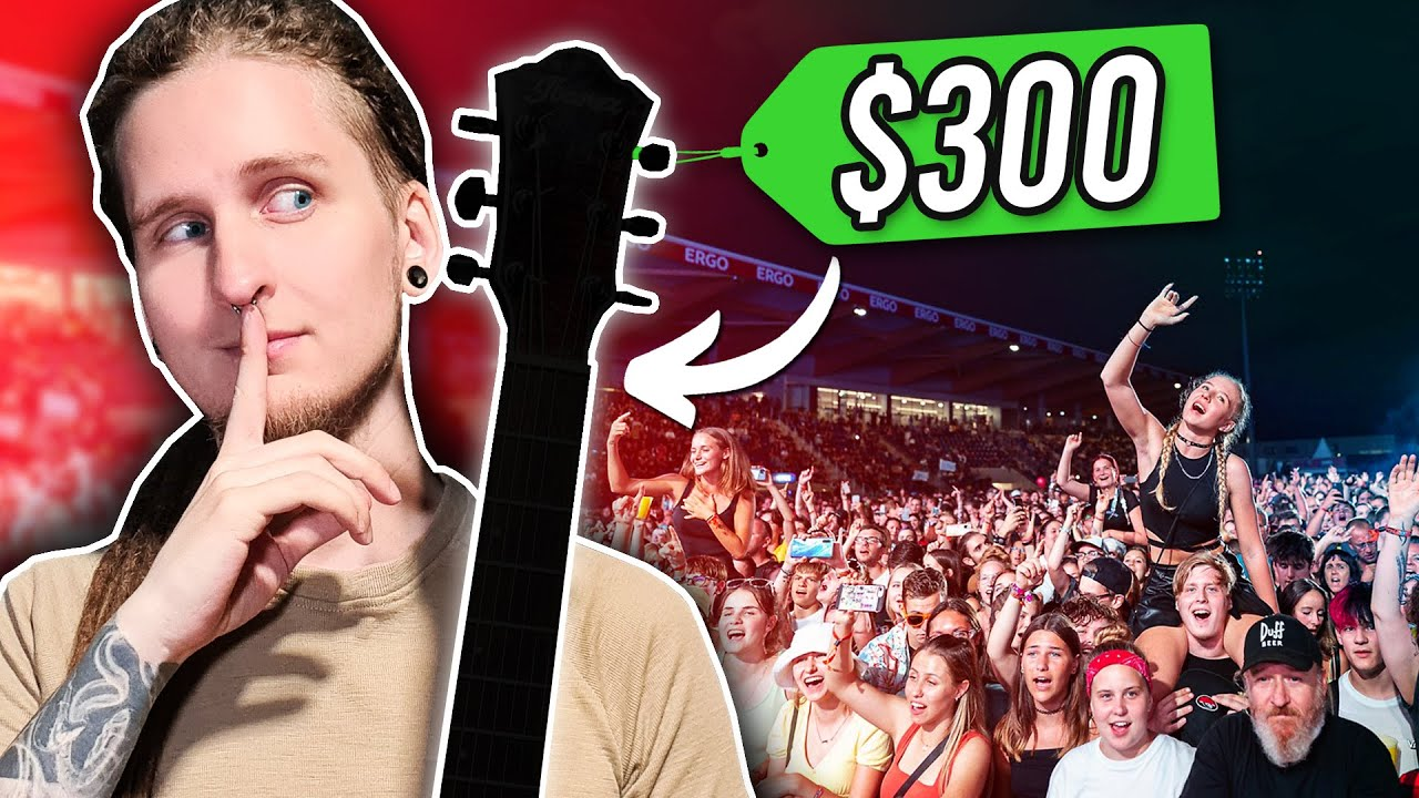 I Played A Stadium Show... With A $300 Guitar!