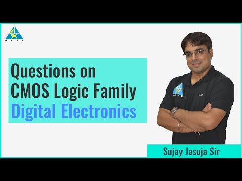Questions on CMOS Logic Family | Digital Electronics