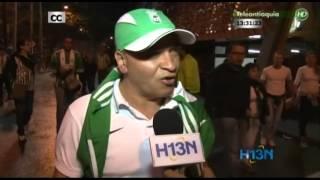 La Voz del Hincha. Atlético Nacional - Defensor Sporting