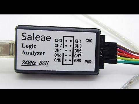 Saleae 8ch 24MHz logic analyzer- logikai analizátor (magyarul ...: www.youtube.com/watch?v=wB_FRvIudKo