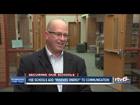 """Hamilton Southeastern Schools add a """"renewed energy"""" to communication and safety"""