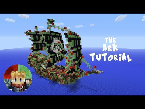 Minecraft: The Ark Tutorial - Sailing Slime Block Pirate Ship (PS/Xbox/PC)