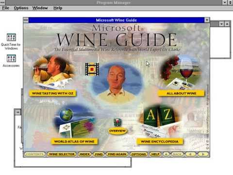 Microsoft Wine Guide