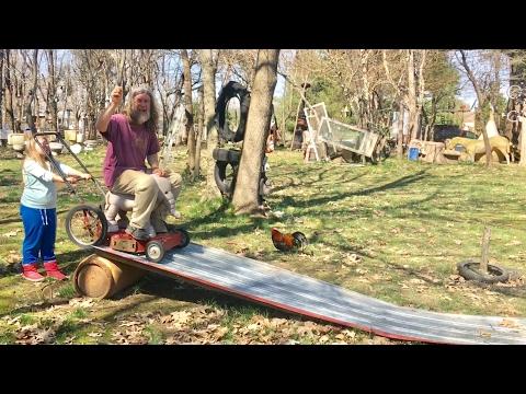 TDW 1708 - The Kentucky Lawnmower Slide !