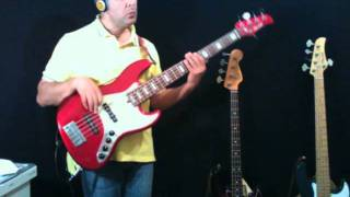 Candi Staton - Young Hearts Run Free personal bassline by Rino Conteduca with bass Mike Lull M5V