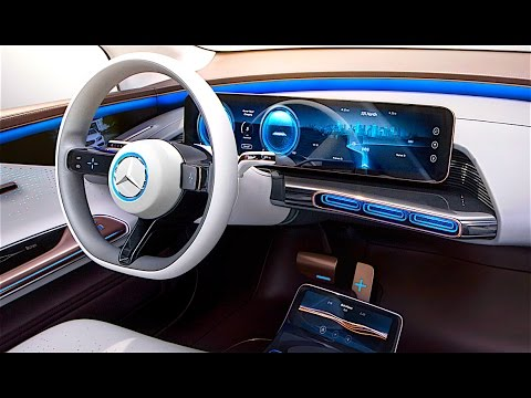 mercedes eq interior in detail 2017 new mercedes electric car interior concept paris 2016 carjam. Black Bedroom Furniture Sets. Home Design Ideas