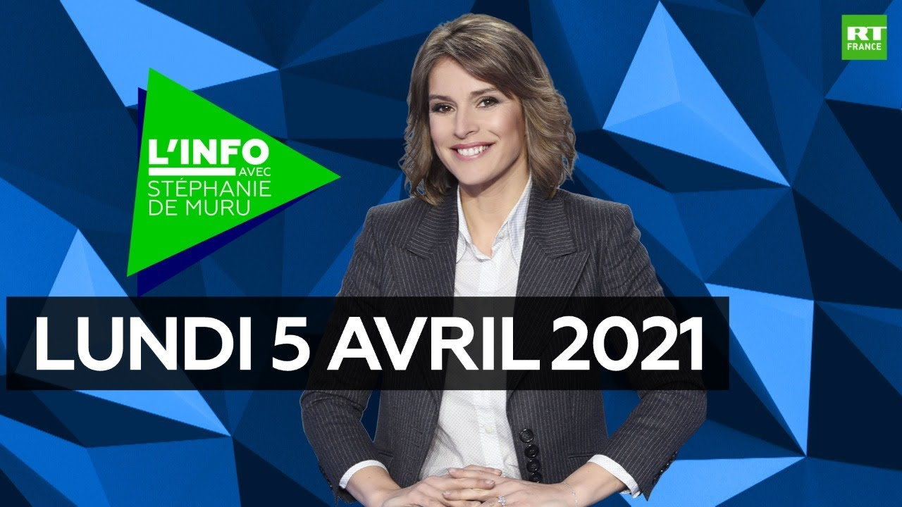 Download L'Info avec Stéphanie De Muru - Lundi 5 avril 2021