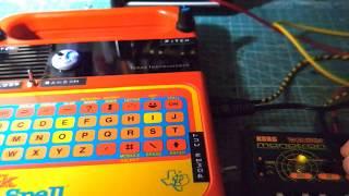 Speak & Spell(Circuit Bent) + KORG monotron DELAY